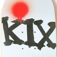 "T19 - ""KIX"" Pro Model Deck and Wheels designed for T19 Skateboards Tokyo, Japan."